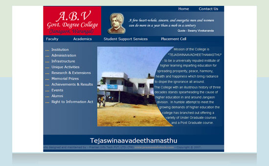ABV Degree College