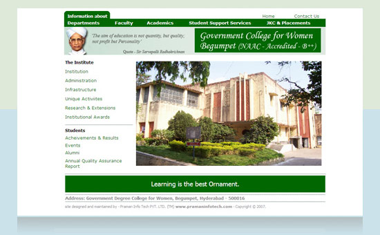 Begumpet Degree College